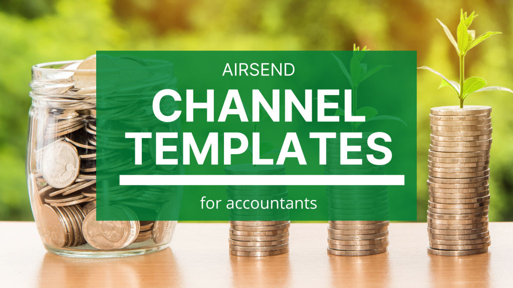 A quick tutorial on how to create a basic accounting channel template and how to use that template when bringing on a new client.