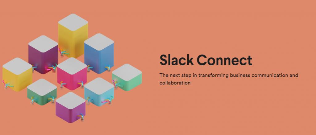 Image of Slack Connect on Slack's webpage