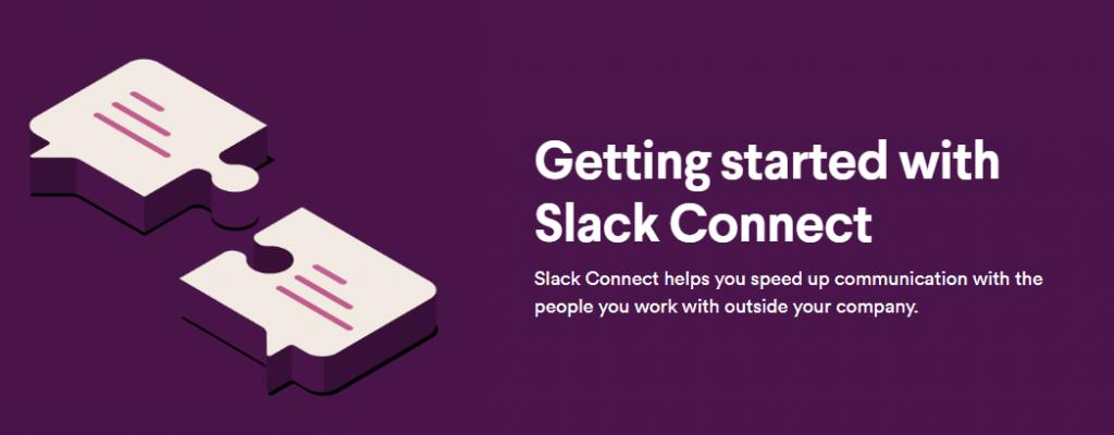Image of Slack Connect on Slack webpage