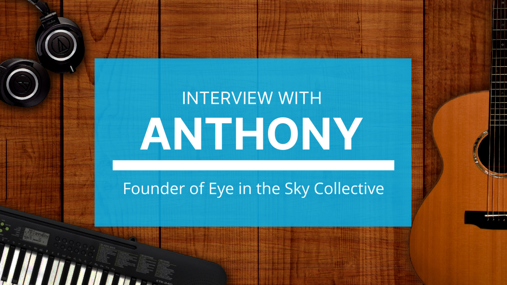Anthony talks about what it's like to run a music collective.