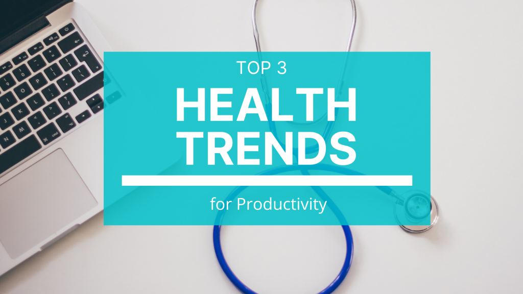 The top three 2020 health trends that can make it easier for you to achieve your goals.