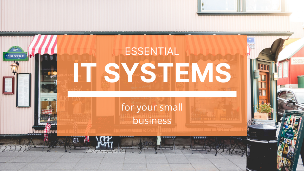 Must-have IT systems plan for small businesses.
