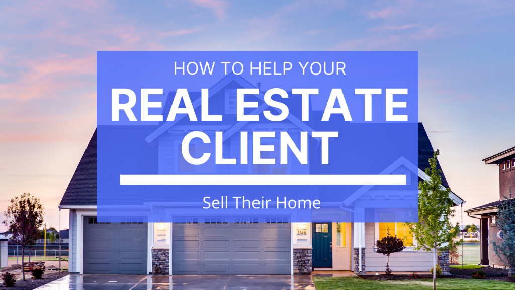 The major steps and questions that real estate agents must consider when working with a seller.