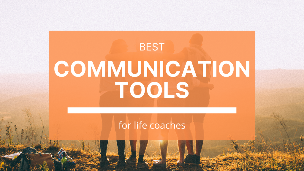 It's important to have the right communication tools in your coaching technology set-up.