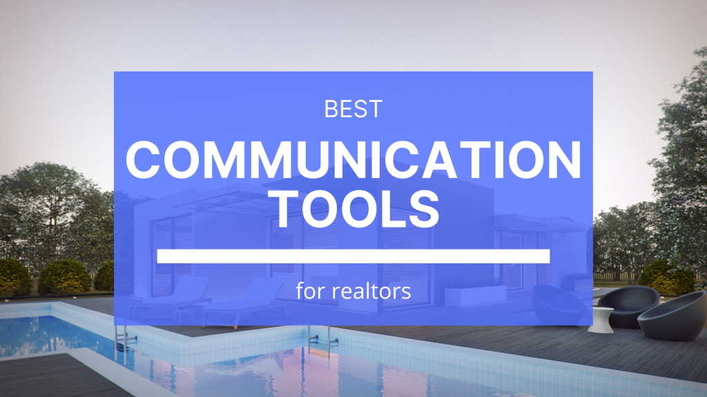Some new communication tools available can differentiate us from the majority of realtors out there who are still stuck in the 90's.