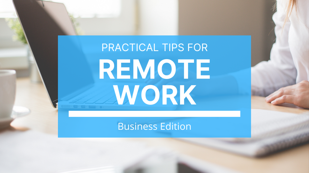 A successful remote working team must have the right people and the right tools.